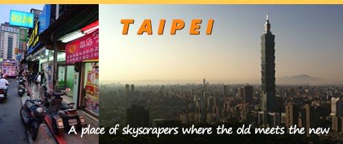 The thrill of Taipei