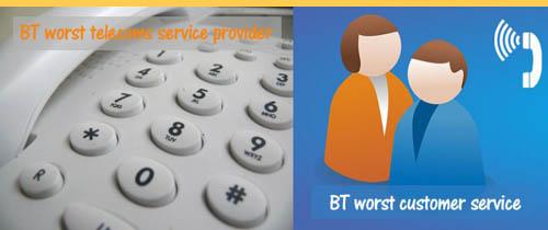 BT the worst telecoms company