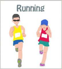 running thumb